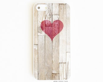 iPhone 5 Case. iPhone 5S Case. Wooden Heart. iPhone 5 Cases. iPhone 5S Cases. Phone Cases. Case for iPhone 5.