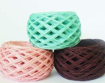 4ply  linen yarn linen thread  linen natural yarn