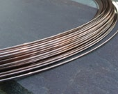 pkg of 1 or 5 feet - Fluxless Copper Solder Wire 20ga - color matching