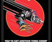 Judas Priest You've Got Another Thing Comin Screaming For Vengeance Era Tour Stand-Up Display