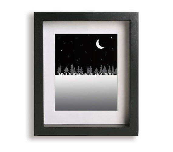 Fix You Coldplay Song Lyric Art Print Music By