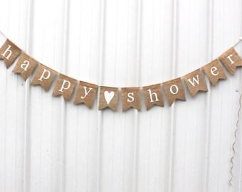 Happy Shower Banner / Bridal Shower Banner / Baby Shower Banner