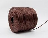 S-Lon Beading Thread 77 Yards Brown #45-8116