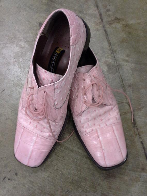 pink alligator shoes for images