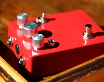 A.S.D.I.C. Vintage Fuzz/Octaver-Made To Order-Classic Guitar / Keyboard / Instrument Effects FX Pedal Stomp Box- Hand Built Replica