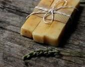 Deodorant Soap / Lemongrass Carrot Calendula Soap / Vegan / theteam yellow mountain cabin rustic mustard