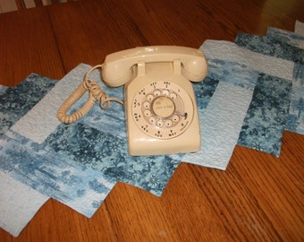 Vintage, rotary dail, AT&T Desk-top Telephone