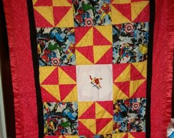Ironman Baby/Toddler Quilt