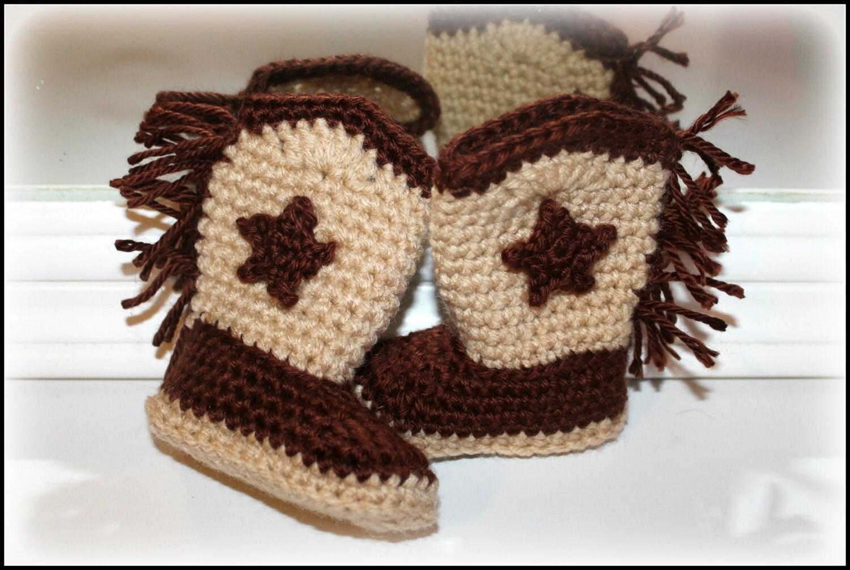 Fine Cowboy Boots Crochet Pattern Free Motif - Easy Scarf Knitting ...