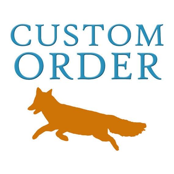Custom Order for Phallin B