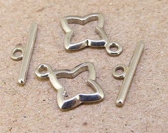 5Clasps platinum plated Star Clasp Connector 16mmx12mm  Necklace Clasp Bracelet  Clasp Jewelry Clasp Fitting Finding Fashion Style