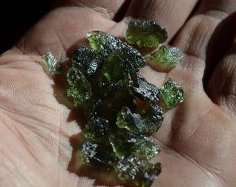 Mini Moldavite - Lot of 10