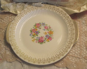 1950 s Royal China May Wreath  Platter / NOT INCLUDED In Coupon Discount Sales