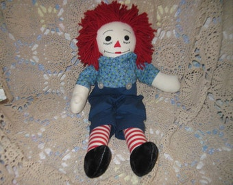 Vintage Raggedy Andy Doll Hand Made  :)