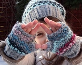 Tamsin Hat & Mitts Set - Knitting pattern -Toddler, Child and Adult sizes - eBook/pdf pattern