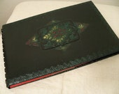 Lovely Embossed Guest Ledger Book Smith Crafted of Chicago