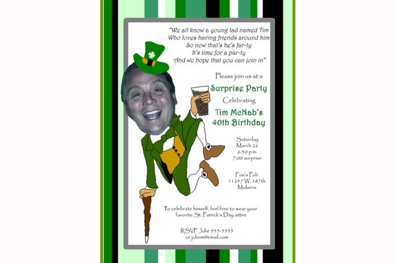 70 Birthday Party Invitations for awesome invitation example