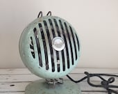 SALE Vintage Mint green Valtron heater / Antique electric heater / mint green / Valtron / Working antique heater / vintage valtron fan