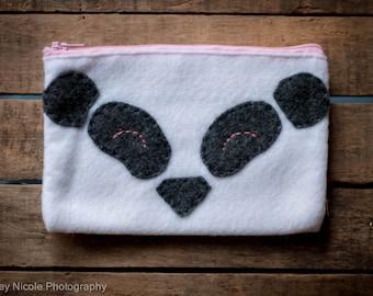 Pink Panda Clutch