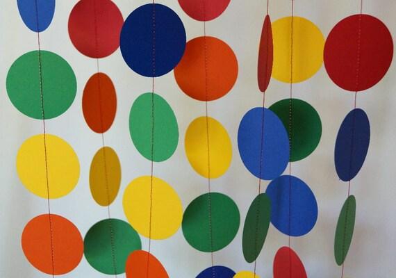 Children S Birthday Party Decoration Rainbow Garland