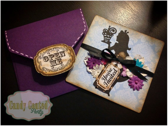 Alice In Onederland Invitations as best invitations example