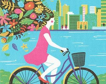 Bicycle, Art print