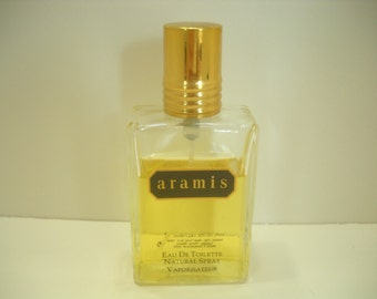 Vintage ARAMIS EAU De TOILETTE Natural Spray Vaporisateur, Switzerland (9)