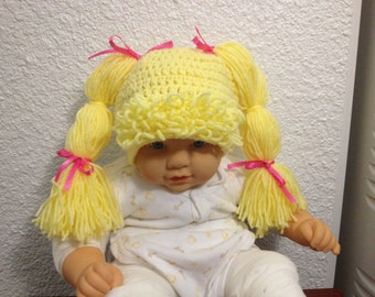 crochet doll hat