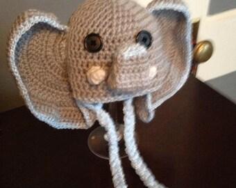 Baby elephant hat
