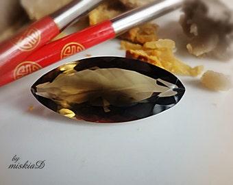 Natural Smoky quartz, Marquise Smoky Quartz, 45.00 Carats Loose Smoky Quartz, Jewelry Supply,Craft Supply