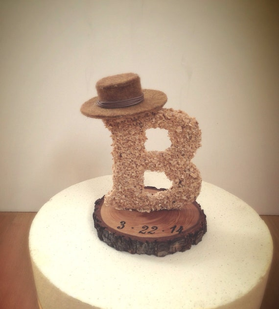 wedding cake letters rustic wedding cake topper wooden letter country by 23081