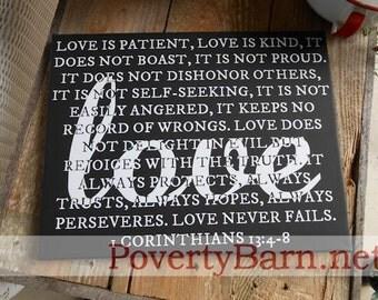 1 Corinthians 13 Canvas Art