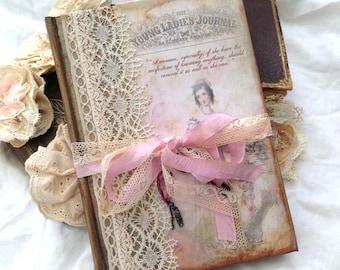 Jane Austin Journal - Theme vintage style - 100 page
