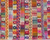 "BOHEMIAN Vintage Turkish Kilim Rug Carpet, Handwoven Kelim Rug,Antique Kilim Rug,Decorative Kilim, Natural Wool  77,1"" X 123,2"""