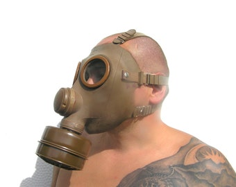 Gas mask Vintage French gas mask UNUSED gas mask Steampunk mask Scary mask Adults mask