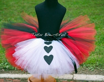 Queen of Hearts tutu