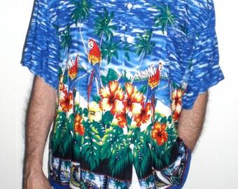 XL ALOHA SHIRT  mens tropical