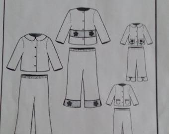 Jillian Jacket and Pants by Bonnie Blue Designs