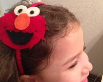 Elmo felt headband