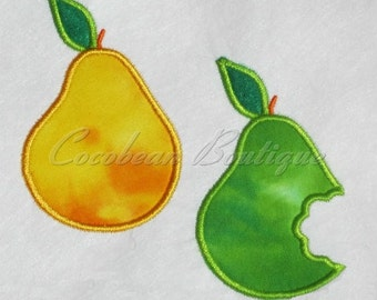embroidery applique Pear