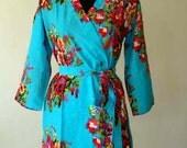 DD1 Bridesmaids Robe - Kimono robe, Perfect for Bridal party gift,  Bath Robe, Getting ready robe