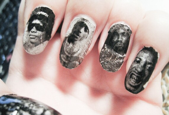 Dead Rapper Nail Wraps Tupac Eazy E ODB Biggie Proof by ...