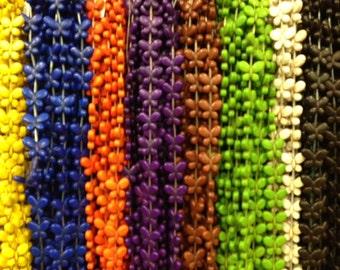 20x25mm butterfly howlite beads