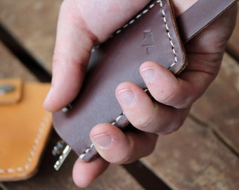 Leather Key Case, Leather Key Holder, Key Pouch, Key Wallet, Leather Key Holder Case Handmade From Genuine Leather