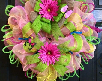 Spring Summer  Wreath