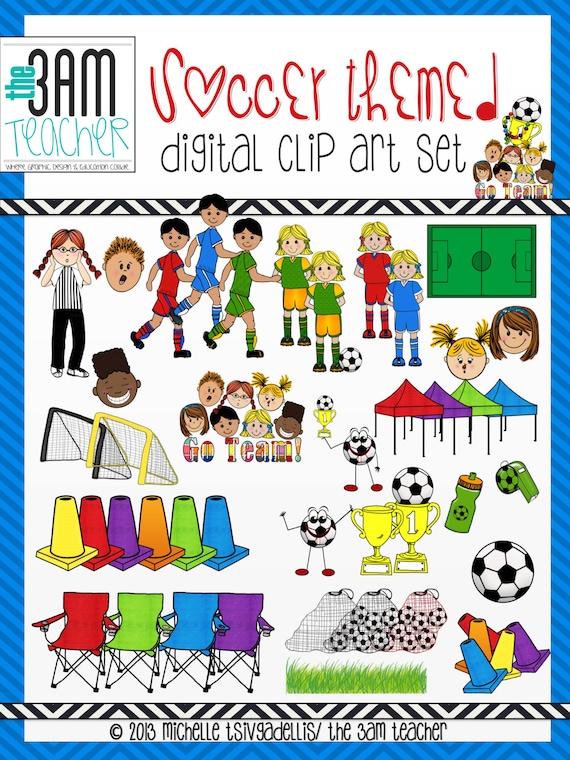 Sports Clip Art Collection: Soccer