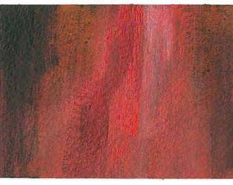 Abstract ACEO Original Painting: Frail