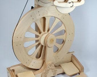 16 oz MACH III  SpinOlution Spinning Wheel, 16 oz flyer with three 16 oz bobbins.  FREE shipping,