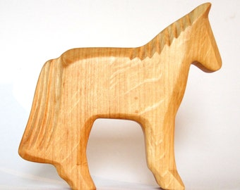 Wooden Horse, Farm Animal, Wooden Toys