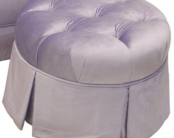 Popular Items For Round Ottoman On Etsy